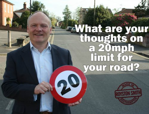 20mph Road Survey