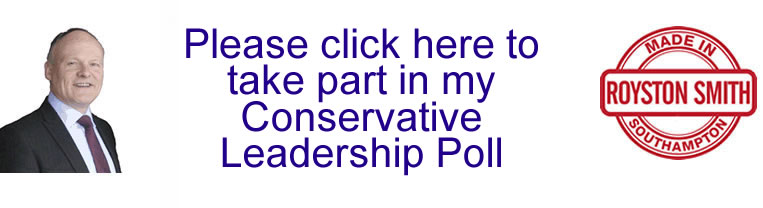 What are your views? Please click here to take part in my Conservative Leadership Poll.
