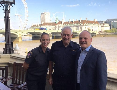 Royston meets with Hampshire Fire and Rescue