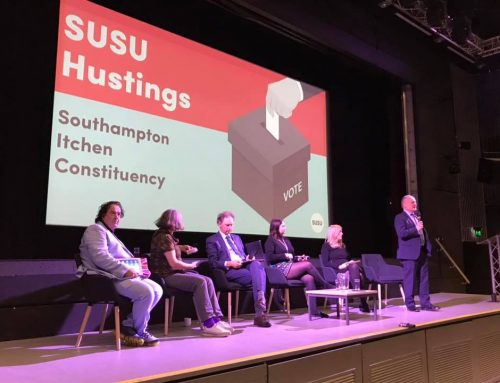 Hustings at University of Southampton
